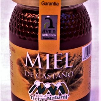 "Miel de Castaño -500 gr. ""Valle del Tiétar Natural"""