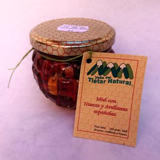 Miel con nueces y avellanas Valle del Tiétar Natural