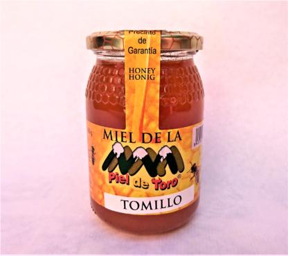 500 gr. de Miel de Tomillo española, marca Piel de Toro